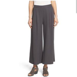 Eileen Fisher Tencel® Wide Leg Ankle Pants